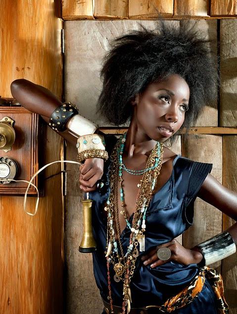 Portrétní a módní fotografie - Keňa