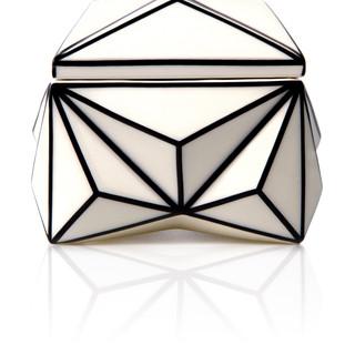 Produktová fotografie, kubistická šperkovnice - klient Deloitte