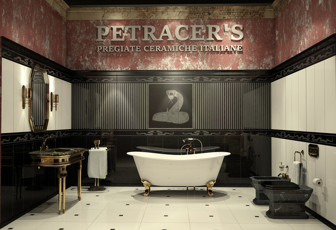 Petracer Stand a CERSAIE 2014