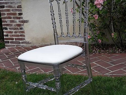 Napoléon Cristal assise blanche