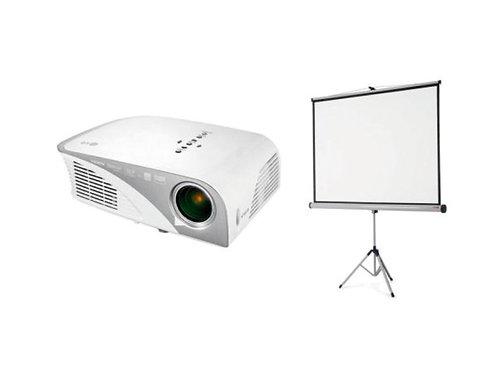 Vidéoprojecteur et écran