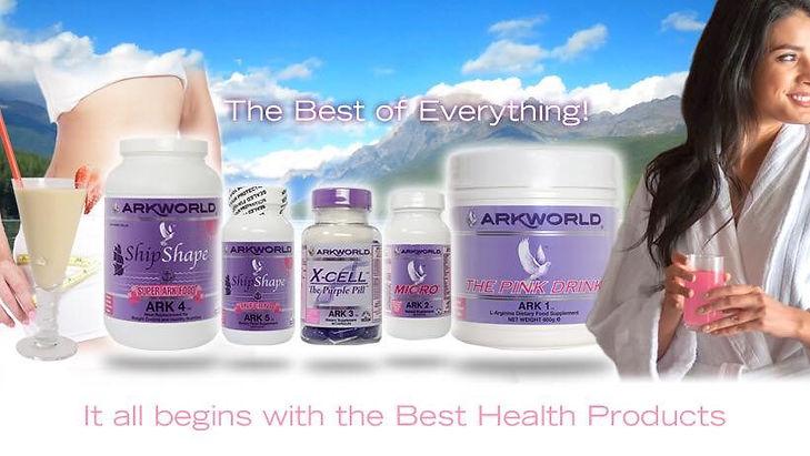 Ark 1 Pink Drink L'Arginine