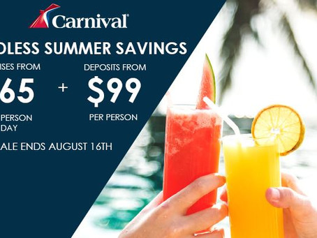 Carnival Cruises - World Travel Club Discount