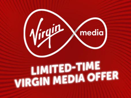 Virgin Media Limited-Time Big Bundle Offer!