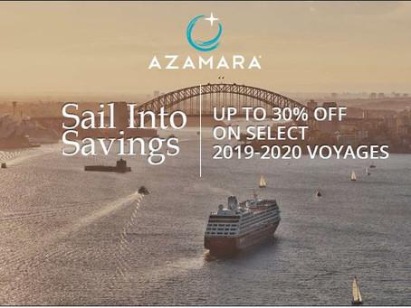 Azamara Cruises - Up to 30% off!