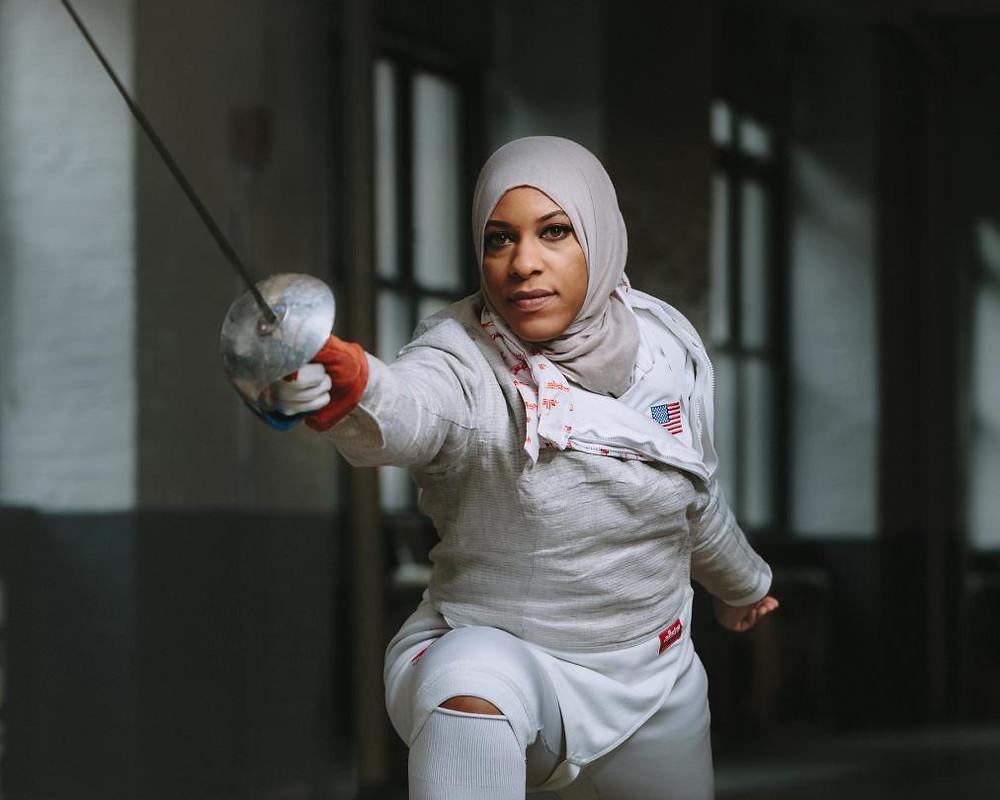 Ibtihaj Muhammad Fencer