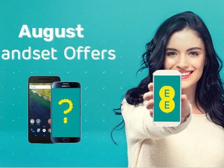 EE August Handset Offer