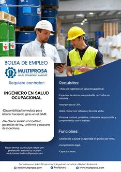 Ingeniero en salud Ocupacional