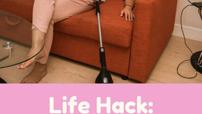 Life Hack: Cleaning Upholstery