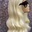 "Thumbnail: 18"" Human Hair Blend Full Lace Wig"