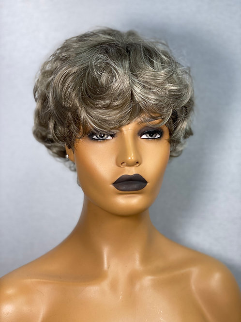 "6"" Synthetic Hair Lace Front HD Scalp Wig"