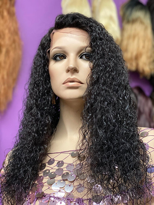 """16"""" 100% Human Hair Wet & Wavy Lace Frontal Wig"""