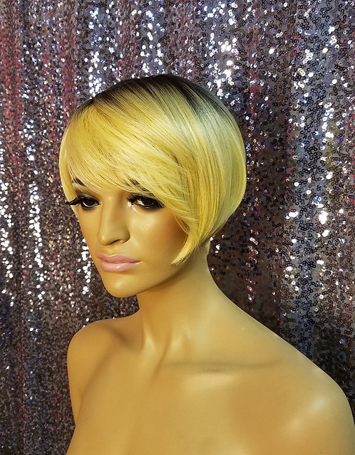 "6"" Synthetic Classic Cap Wig"