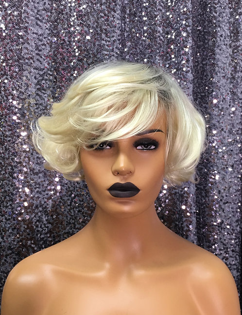 """5"""" Synthetic Rooted Ombre Classic Cap Wig"""
