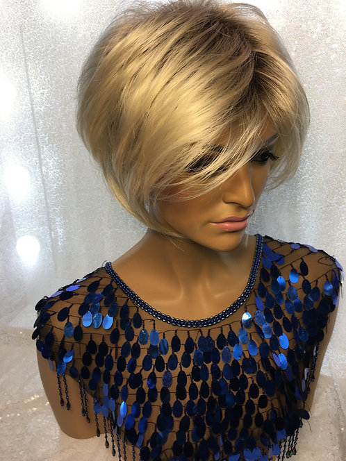 """9"""" Synthetic Full Cap Wig"""