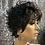 "Thumbnail: 3"" Synthetic Classic Cap Full Wig"