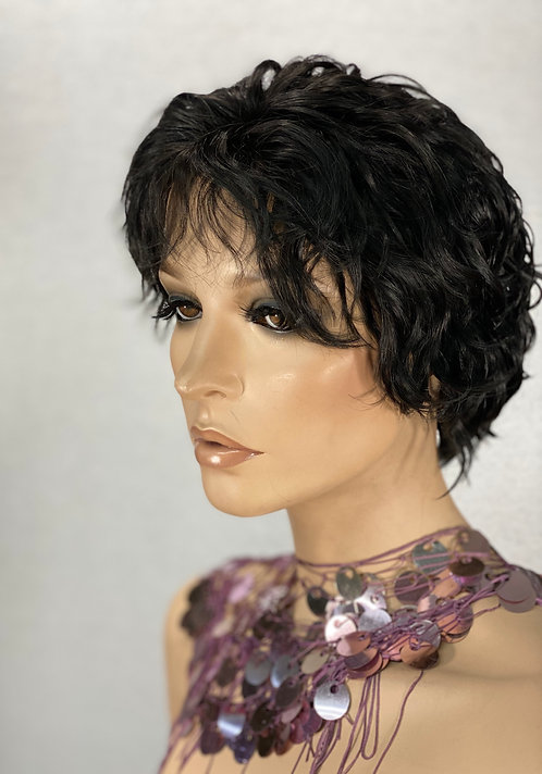 100% Remy Human Hair Lace Front Wig