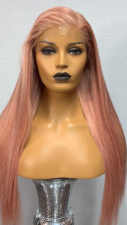 "20"" 100% Human Hair Glueless Full Lace Wig"