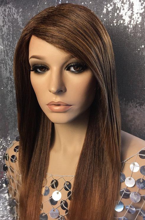 """14"""" 100% European Human Hair Full Cap Wig"""