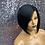 "Thumbnail: 10"" Human Hair Blend Deep Part Lace Frontal Wig"