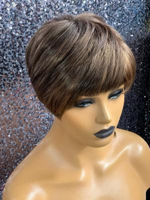 """4"""" Synthetic Full Cap Wig"""