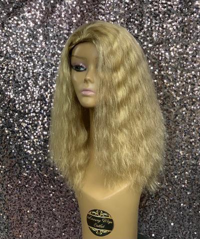 """14"""" 100% Human Hair 3/4 Half Wig"""
