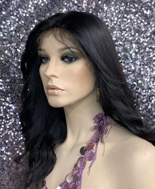 "12"" 100% Human Hair Virgin Lace Frontal Wig"