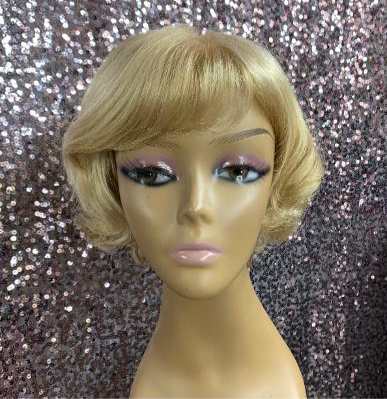 "7"" Synthetic Hand Tied Lace Top Wig"