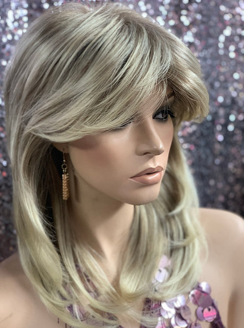 "13"" Synthetic Classic Cap Full Wig"