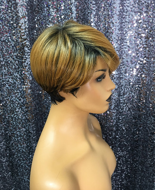 "5"" Synthetic Full Cap Wig"