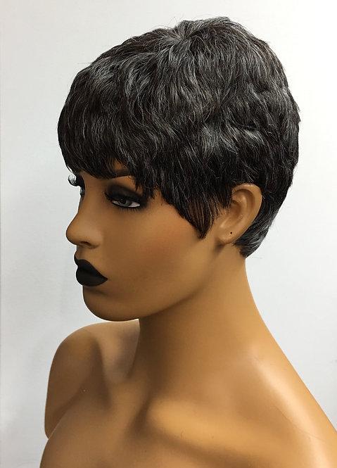 """2"""" 100% Human Hair European Full Cap Wig"""