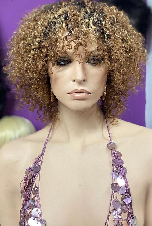 "8"" 100% Human Hair Classic Cap Wig"