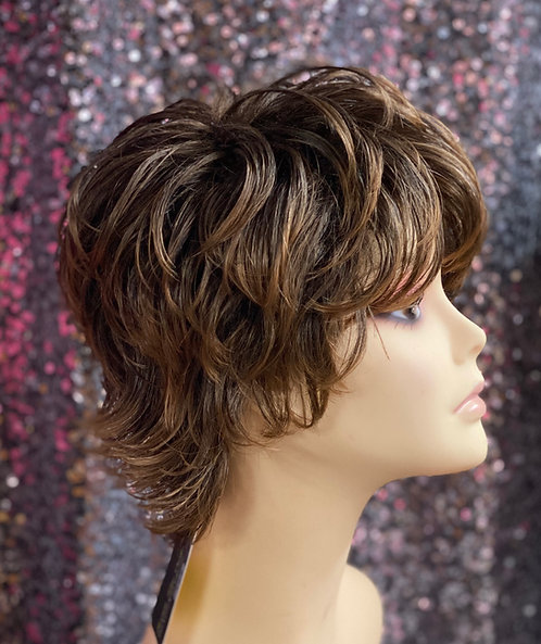 """4.5"""" Synthetic Classic Cap Wig"""