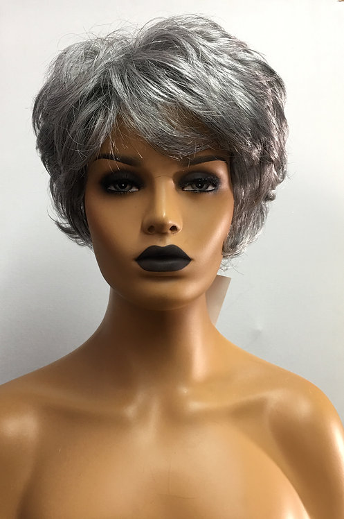 """4"""" Short Layered Synthetic Full Classic Cap Wig"""