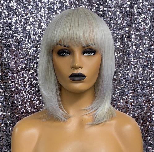 "10"" 100% Human Hair Classic Cap Wig"