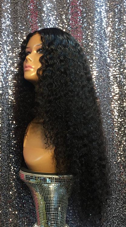 """22"""" 100% Human Hair 4""""x4""""Lace Front Unit"""