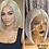 "Thumbnail: 10"" 100% Brazilian Human Hair Lace Frontal Wig"