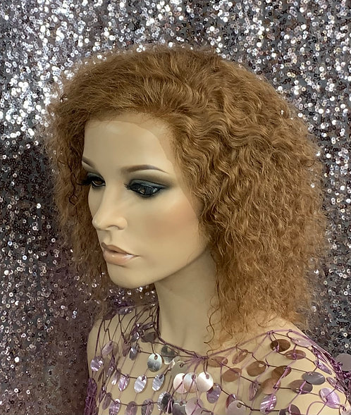 """9"""" 100% Human Hair Lace Front Wig"""