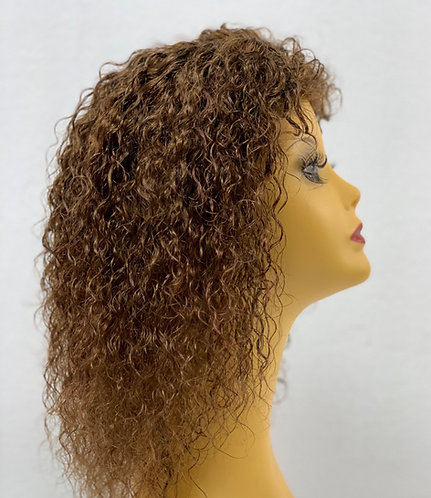 "10"" 100% Russian Human Hair Full Lace Wig"