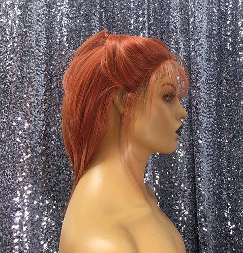 "10"" 100% Human Hair European Lace Frontal Wig"