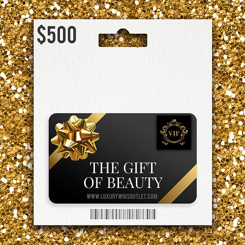 Luxury Wigs Outlet Gift Card