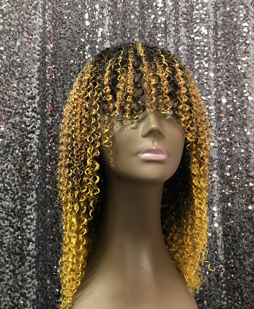 "12"" 100% Human Hair Full Cap Wig"
