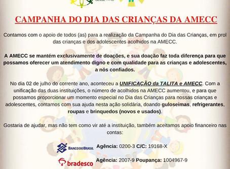 Campanha do Dia das Crianças da AMECC!