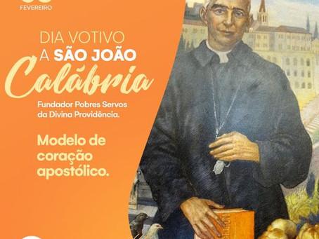 Dia Votivo a são joão Calábria