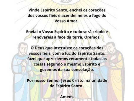 Celebremos o Dia de Pentecostes, um dia cheio de história e fé.