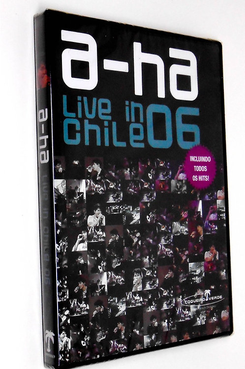 A-HA - LIVE IN CHILE 06 DVD