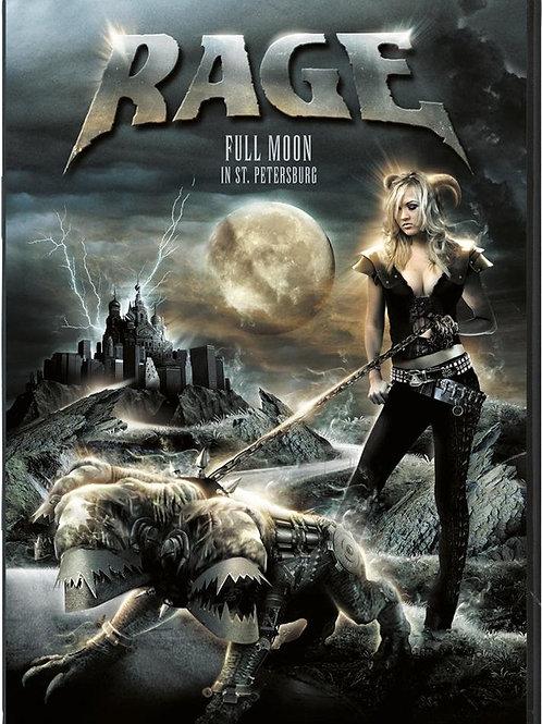 RAGE - FULL MOON DVD+CD
