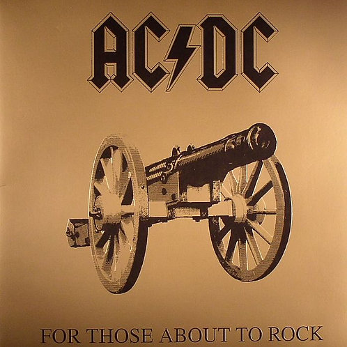 AC/DC - FOR THOSE ABOUT TO ROCK CD