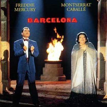 FREDDIE MERCURY - BARCELONA CD