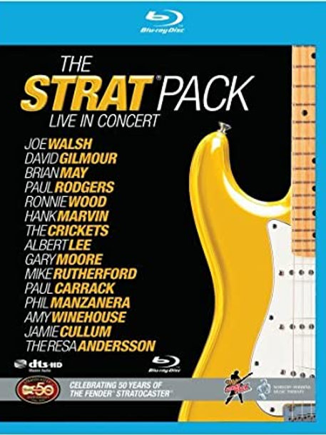 THE STRAT PACK - LIVE IN CONCERT BLU RAY